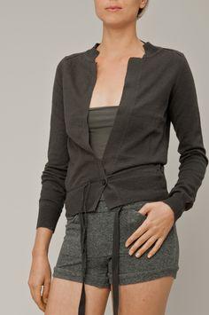 ORGANIC SLUBS  55% katoen, 22% ramie, 20% organisch katoen  knitwear met slub garens