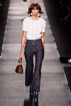 Louis Vuitton Spring 2015. See the top 5 looks from the best collections at Paris Fashion Week here.
