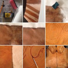 How to dye leather in 9 steps Triss Cosplay, Triss Merigold Cosplay, Costume Tutorial, Cosplay Tutorial, Leather Dye, Antique Paint, Leather Projects, Steampunk Diy, The Witcher