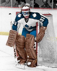 Jiri Crha working the nets in Toronto in relief of Palmateer, Harrison and Curt Ridley injuries. Hockey Goalie, Hockey Games, Ice Hockey, Maple Leafs Hockey, Hockey Room, Goalie Mask, Good Old Times, Nfl Fans, National Hockey League
