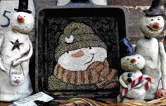Hey, I found this really awesome Etsy listing at https://www.etsy.com/listing/524334008/punch-needle-pattern-sam-snowman-snowman