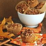 Maple Spiced Sweet Potato Muffins with Spiced Pecans-this site has a LOT of other great sounding breakfast recipes