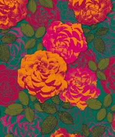 mar de rosas by padronagens & afins, via Flickr