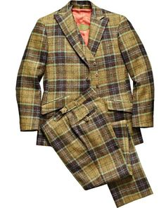 Phineas Cole Wool Plaid Suit.  Yes, please.
