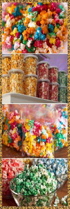 Colored Popcorn, Pop Corn, Empanadas, Deli, Easy Desserts, Sushi, Sandwiches, Bakery, Food And Drink