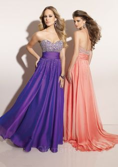beaded chiffon prom dresses,