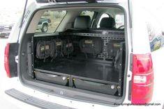 discovery i rear storage | Springtail MPAC Chevrolet Tahoe Cargo Drawer Storage Organizer GMC