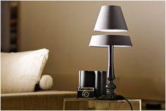 Levitating bedlamp