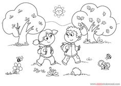 87 En Iyi Boyama Görüntüsü Early Education Coloring Pages For
