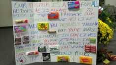 Im so doing this for my class Pastor's appreciation gift from Children's Church