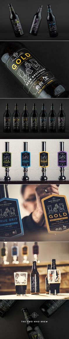 Beer Brothers Keeps It All In the Family — The Dieline | Packaging & Branding Design & Innovation News