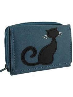 A cute cat is playing with a yellow butterfly on the front cover of this lovely wallet.It makes great gift for those who loves cat.Made with toxic free vegan leather, this wallet has:- 1 photo ID pocket,- 5 card slots,- 1 zipper around coin purse at the back- 8 x 11 x 3cm / 3.25 x 4.25 x 1.25in