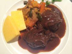 Twitter / @Bloggeries: Beef cheeks and veg at Ochina Bianca in #Mantua