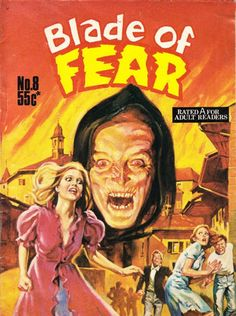 Cover for Blade of Fear (1976 series) #8