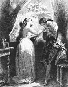 Wonderful Book... So tragic... I also like this Illustration a Lot. The sorrows of the young Werther/ Die Leiden des Jungen Werther by Goethe