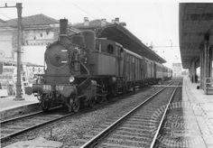 FS Italian Railways Steam Locomotive 880 054 at Pavia in 1968 1
