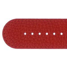 Uhrenband breit UB 141 - 1 rot rustikal