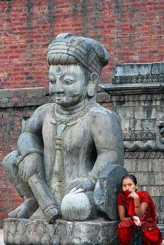 Bhaktapur, Népal                                                       …