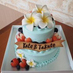 ウェディングケーキ   誕生日・バースデーケーキ・キャラクターケーキ 沖縄那覇市のスイーツ専門店 コートドール