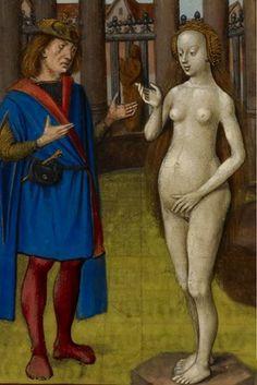 Pygmalion And Galatea Statue