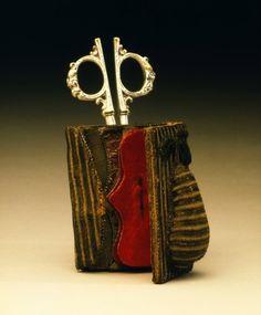 Needle Case and Scissors    England, 1660-1690    The Victoria & Albert Museum