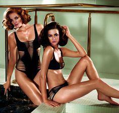 Stroje kąpielowe Agent Provocateur wiosna-lato 2015, bikini, kostiumy kąpielowe, Agent Provocateur