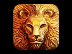 Lion iOS Icon Design Process by Ramotion [gif]