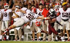 Georgia Bulldogs vs. South Carolina Gamecocks - Photos - October 06, 2012 - ESPN