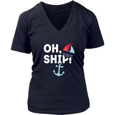 If you love Cruising then this awesome Oh, Ship! is for You. Custom men & women Cruising shirts by TeeLime. If you want different color, style or have an idea for design we're here and we'd Love to he