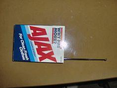 Vitage Laundry Detergent   Vintage Am/fm Radio, Ajax Laundry Detergent Box, Vintage Advertising ...