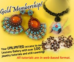 DIY Beading Sale – 50% Off on Gold Membership. From $19.95 to $9.95 sign up fee you'll enjoy over 100 jewelry making tutorials. Sale ends on November 16, 2014