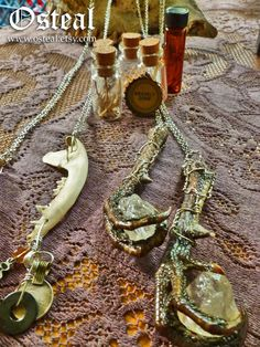 Dragon Claw  salvaged pheasant foot with quartz nugget by Osteal, $38.00