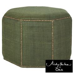 The Upholstered Ottoman, Medium