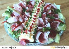 Moje sýrová roláda recept - TopRecepty.cz Pasta Salad, Barbecue, Sushi, Tacos, Mexican, Ethnic Recipes, Food, Crab Pasta Salad, Barrel Smoker