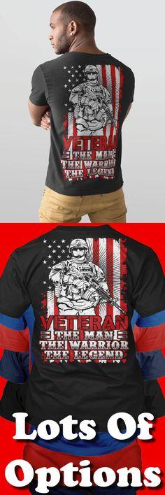 Veteran Shirts: You Love Veterans? Love Veteran Shirts? Great Veteran Army Gift! Lots Of Sizes & Colors. Like Veteran Life, American Veterans, Veteran Shirts home, Funny t-shirts and hoodies for Veteran lovers and Veteran shirts American flag? Strict Limit Of 5 Shirts! Treat Yourself & Click Now! https://teespring.com/RN95-431