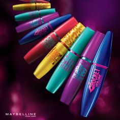 Volum' Express The Rock Washable Mascara by Maybelline. A volumizing and non clumping mascara in a washable formula for bigger and smoother eyelashes. Makeup Geek, Love Makeup, Skin Makeup, Makeup Brushes, Makeup Tips, Beauty Makeup, Makeup Looks, Makeup Ideas, Daily Makeup