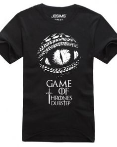 Game of Thrones mens t shirt short sleeve A Song of Ice and Fire   -