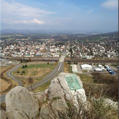 View from chimney rocks Hollidaysburg pa
