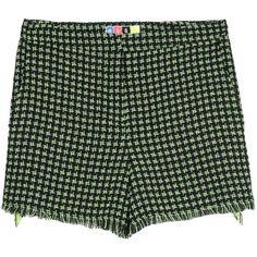 MSGM Shorts (1,805 CNY) found on Polyvore fringe shorts饰边短裤20130307