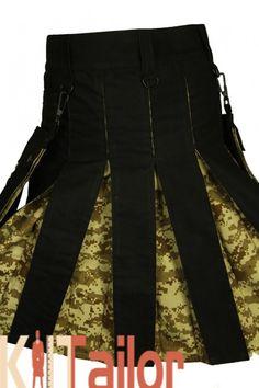 US Military Camo Utility kilt Box Plated Hybrid Kilt Cheap Kilts, Kilt Shop, Kilts For Sale, Leather Kilt, Utility Kilt, Tartan Kilt, Us Military, Color Swatches, Fashion Wear