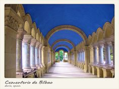 Bilbao Cemetery in Derio, Spain