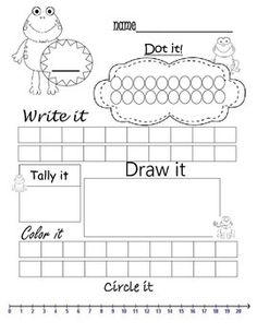 Pick a number Practice dotting it, writing it, tally it, draw a picture… Number Talks Kindergarten, Kindergarten Assessment, Teaching Math, Maths, Math Math, Help Teaching, Learning Numbers, Math Numbers, Homeschool Math