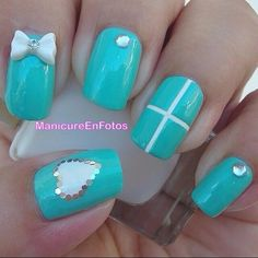We have organized beautiful collection of nail polish designs and nail art designs. These designs can be tried at various occasions. It is not necessary to try only simple nail art designs. You can experiment with colors and designs to match your style. Simple Nail Art Designs, Colorful Nail Designs, Beautiful Nail Designs, Nail Polish Designs, Cute Nail Designs, Easy Nail Art, Fancy Nails, Love Nails, Nails Pies