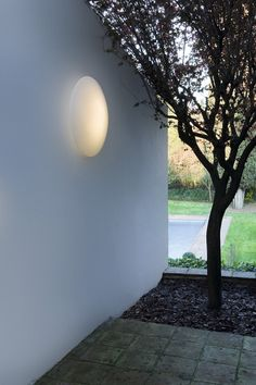 Ufo outdoor sconce