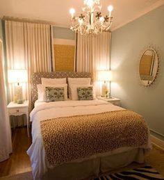 Earthy relaxing bedroom decorating idea