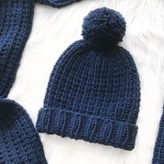 225d2531e401 This is the matching beanie for my Blue Steel scarf – pattern here. This  pattern uses a soft and chunky yarn from the Women's Institute collection  making it ...
