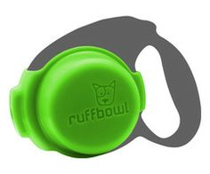 RuffBowl $8 Built in leash and portable water bowl all in one. Great for any dog owner.
