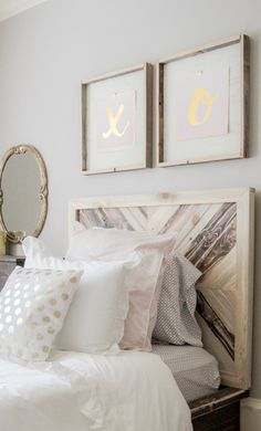 Sisters Ashley and Whitney from Shanty 2 Chic created the most whimsical and beautiful bedroom featuring the sweet Vienna bedding.