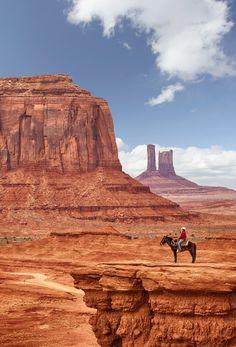 Cowboy - Monument Valley,  Colorado Plateau, via Nobuo Tsuchiya
