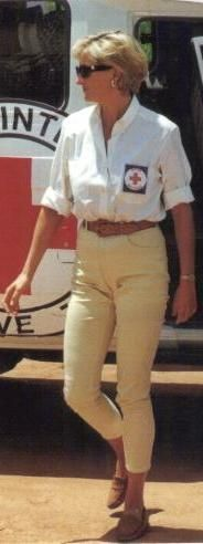 January 15, 1997: Diana, Princess of Wales worked to de-mine regions of Southern Angola. Her personal support is said to have been a significant factor in encouraging Britain and other countries to support the Ottawa Treaty, a bid to introduce a ban on the use of anti-personnel landmines. Her contributions were noted in Robin Cook's speech when he brought the second reading of the landmine bill to the House in 1998.